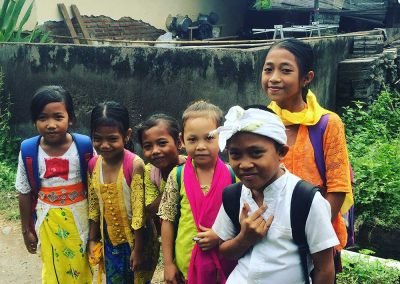 Children from Indonesia.