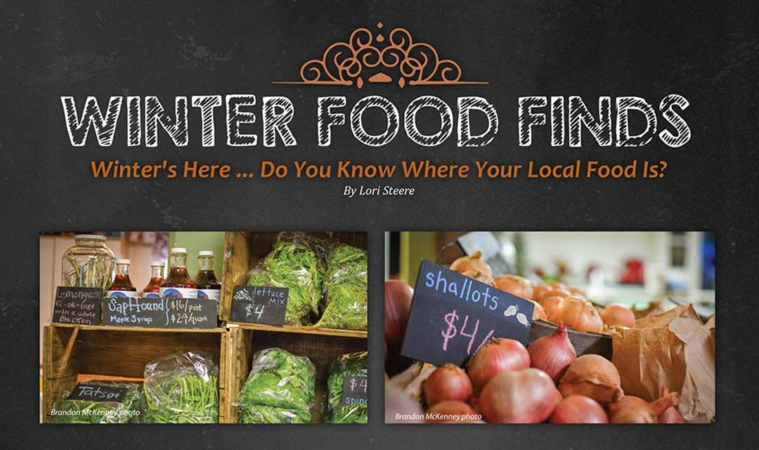 Where to find local winter food