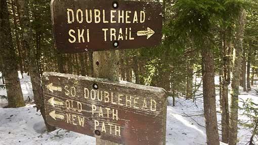 Doublehead Ski Trail Jackson, NH