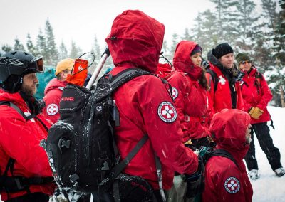 Mount Washington Volunteer Ski Patrol (Klementovich photo)
